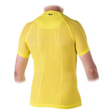 ALTEREGOCOLOR2 Light Short Sleeve Base Layer Yellow Fluo