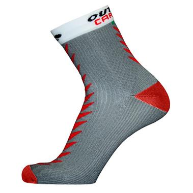 ULTRACARBONSOCKS Socks Grey/Red